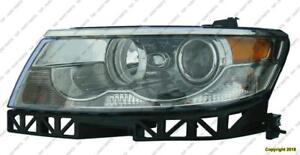 Head Lamp Driver Side Halogen High Quality Lincoln  MKZ  2007-2009