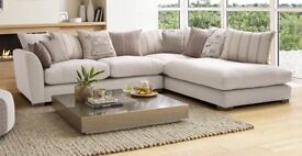 *BRAND NEW* DFS Right Arm Corner Sofa in cream - Retails at £2950