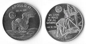 apollo 11 moon landing commemorative coin - photo #26