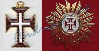 Order of the Knights of Our Lord Jesus Christ COMPLETE SET (Badge+Star)