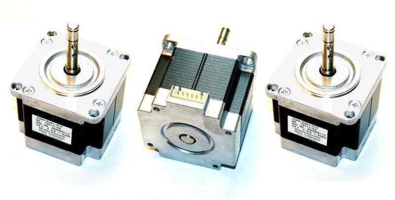 Lot of 3 Nema 23 Stepper Motors 2A Motor Mill Robot Lathe RepRap