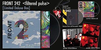FRONT 242 (Filtered) Pulse (Deluxe Anniversary Box) LP VINYL+2CD 2016 LTD.1242