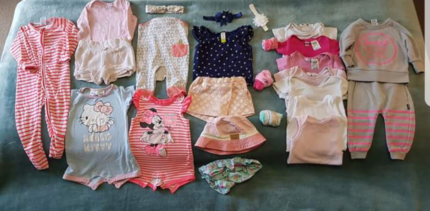 Baby Girl Clothes Size 0 & 00