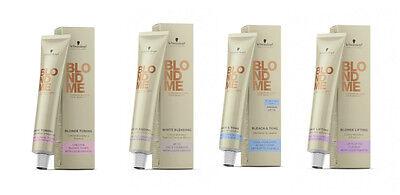 Schwarzkopf BLOND ME Blond Color Tönung Lifting Haarfarbe Restbestände 60ml