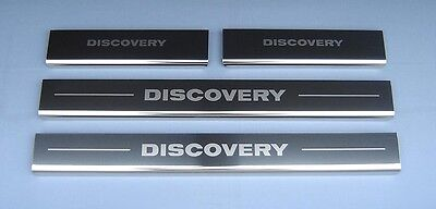 Land Rover Discovery Models 3 & 4 Kick Plates Sill Protector guards