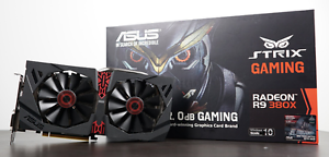 ASUS Radeon R9 380X OC STRIX Gaming 4GB Video Card Pennant Hills Hornsby Area Preview
