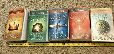Game Of Thrones 5 Book Set Paperback