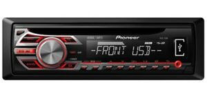 New Pioneer car stereo