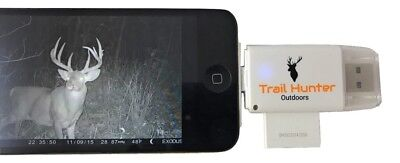 Trail Hunter Outdoors Trail Camera Viewer & SD Card Reader for iPhone & Android