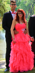 Superbe robe de bal digne d'une princesse