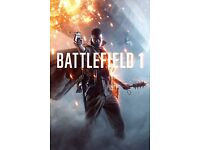 Battlefield 1 download Xbox one