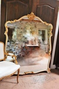 Antique Free Standing French Mirror - free delivery