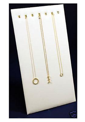 7 Hook Velvet Necklace Pendant Displays Easel Chain