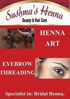Sushma's Henna,Eyebrows Threading &many more services Hfx