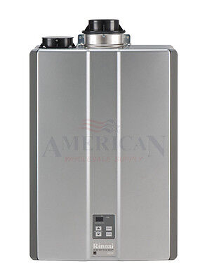 Rinnai Ruc98in Interior Natural Gas Condensing Tankless Water Heater