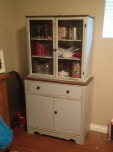 vintage refurbished China Cabinet - Storage Cabinet - $350 (Lang