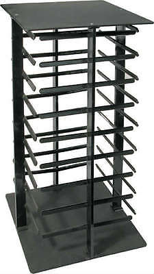 Earring Display Stand Revolving Black Acrylic Rotating Holds 144 Earring Cards  ()