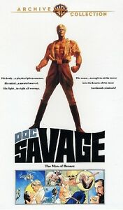 Doc Savage ( Ron Ely ) - WAC - compatible in Region 2 UK on DVD New