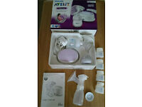 Philips Avent Electric Breast Pump with extras