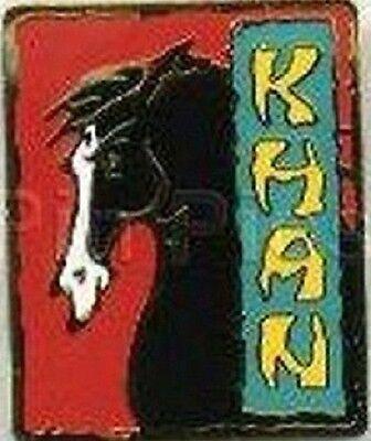 Disney Mulan Khan the Black Horse pin
