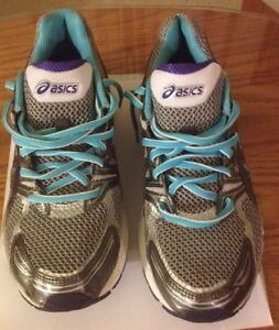 Athletic shoes by Asics