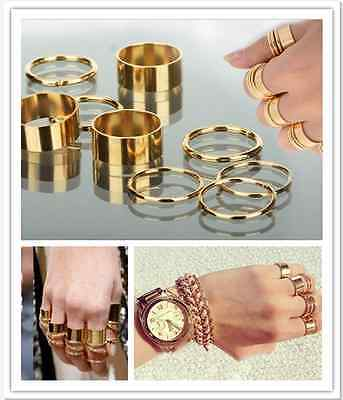 9PCS-Set-Cute-Urban-Gold-stack-Plain-Above-Knuckle-Ring-Band-Midi-Rings-2-Style