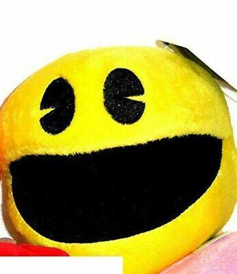 "Pac-Man 7"" Plush Doll Pac Man Plush Yellow New"