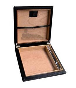 20 COUNT CARBON FIBER CIGAR TRAVEL CASE HUMIDOR Chadstone Monash Area Preview