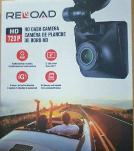 Reload 720p HD dashcam