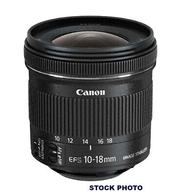 Canon EF-S 10-18mm F/4.5-5.6 IS STM Zoom Lens (9519B002)
