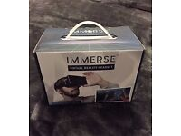 BRAND NEW IN BOX 'IMMERSE' VIRTUAL REALITY HEADSET 3D EXPERIENCE