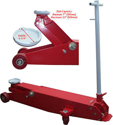 Long 10 ton hydraulic floor jack frame 7 to 22 free for 10 ton floor jack for sale