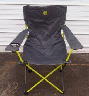 As New Coleman (US Brand) Colour Quad Folding Camp Chair