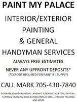 PAINT MY PALACE INTERIOR/EXTERIOR PAINTING