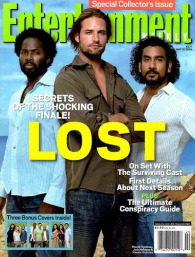 ENTERTAINMENT WEEKLY - ABC TV LOST - 4 SPECIAL COLLECTOR COVERS #877 MAY 2006