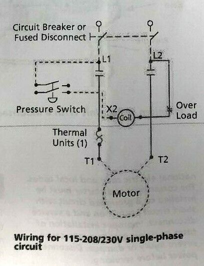 3 Phase Air Compressor Pressure Switch Wiring Diagram from i.ebayimg.com