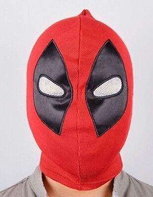 Marvel Comics Deadpool Over the Head ADULT Size Cosplay Replica Breathable - Deadpool Mask Replica
