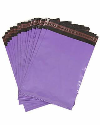 MIXED 50 x VIOLET PURPLE Plastic Postal Mailing Bags 6 x 9 10 x 14 12 x 16 10x14