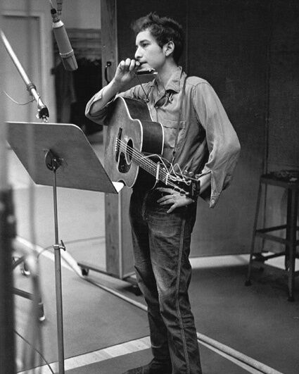 Famous Singer Songwriter BOB DYLAN Glossy 8x10 Photo Print Music Poster
