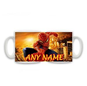 Personalised-Name-Spiderman-Mug-Birthday-Christmas-Special-Gift-Size-11oz