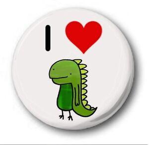 I-LOVE-Dinosaurios-2-5cm-25mm-Boton-Insignia-Original-Muy-monos-Corazon