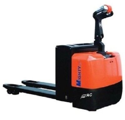 "Powered Heavy Duty AC/ Electric Pallet Jack EPT60 28-1/2"" W x 45"" L forks 6000#"