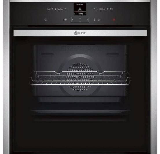 NEFF B57CR22N0B Stainless Steel Built-in Oven with SLIDE & HIDE ® - RRP £699 - New