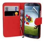 Bookwallet hoes Samsung Galaxy S4 rood
