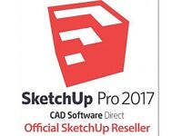 Sketchup Pro 2017 / 2016 Professional (FULL VERSION) WITH KEY