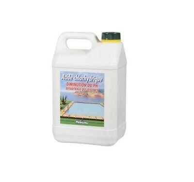 Ácido Chlorhydrique Piscina Regulador Desde Ph Cal Removedor 5L MIEUXA
