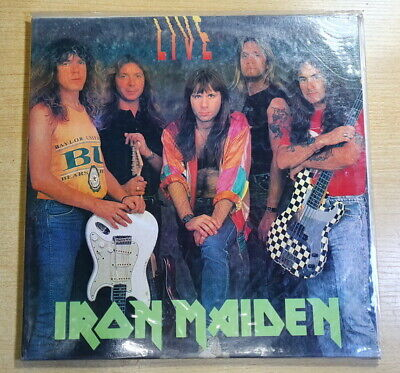 Iron Maiden - Live Rare Korea LP 1992 Sealed New