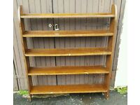 Beautiful Solid Antique Bookcase