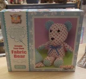 Create your own fabric Bear