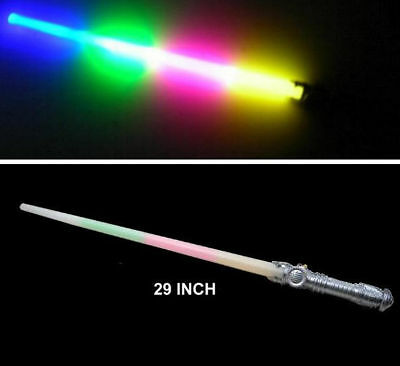 SWORDS light up kids play toy gift bright novelty sword NEW (Led-saber)